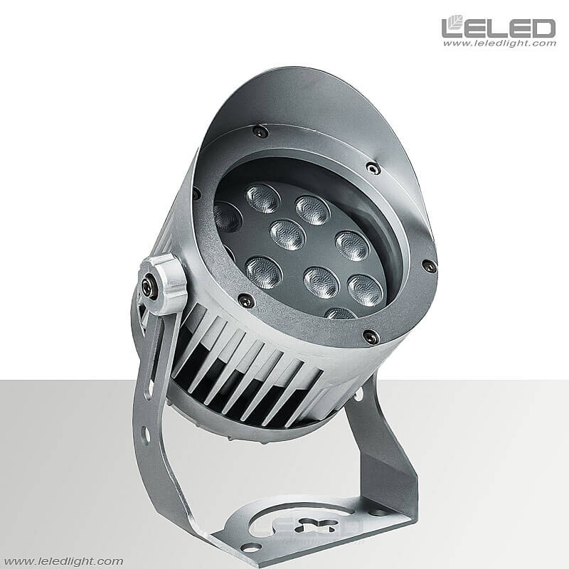 Round Led Flood Light Fixture Osram Chip For Outdoor