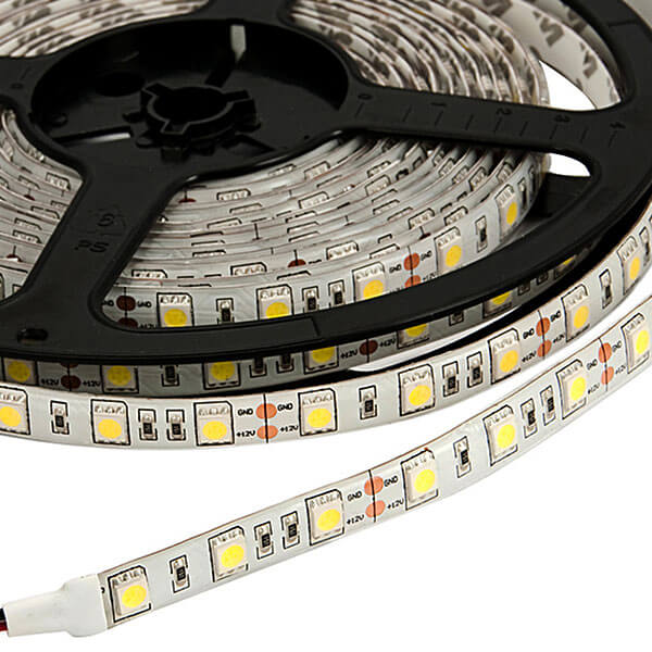 Ip65 led strip lights fixture 5050 60pcs white manufacturer china enter mozeypictures Image collections
