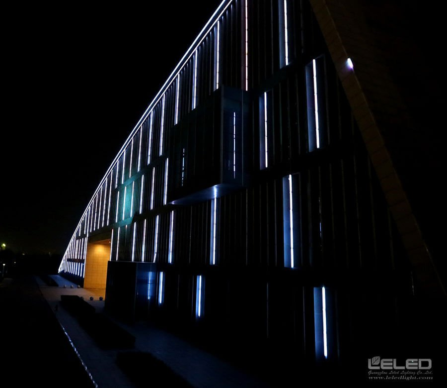 Contour led lighting with linear smd for architecture for Exterior led lights