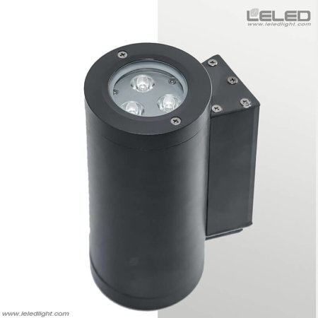 outdoor wall lights with Pro illuminating on 2 sides for houses & architecture facde