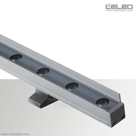 12W Surface Mounted Linear LED Uplighter with Antiglare Baffle IP65