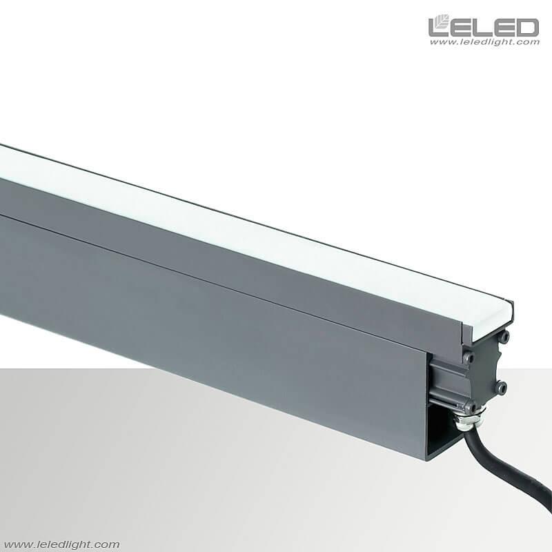 Lumières enterrées linéaires de LED 12W avec l'aperçu sans couture de connexion