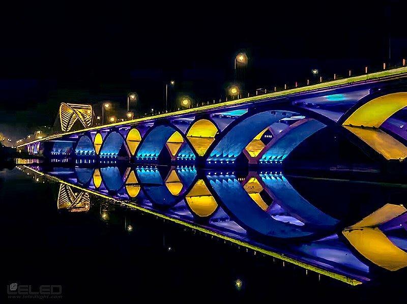 lighting projector bridge design idea for super LED high power projector lights