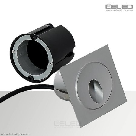 Square Recessed Wall Lights Outdoor & 3W Floor Washer Lights