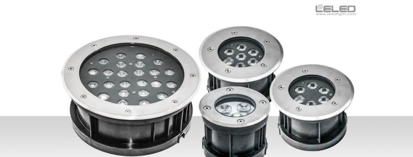 LED round inground lights & underground flood lights in China