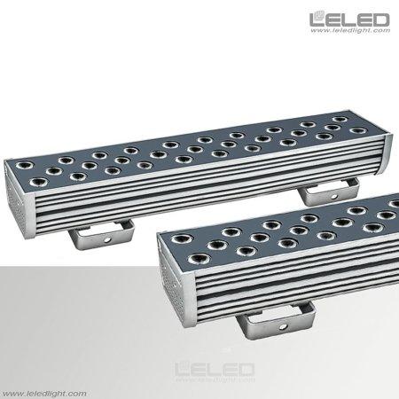 أضواء LED العارض الخطي مع العمارة لمسافات طويلة أضواء الجدار غسالة 600MM